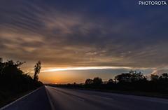 BEAUTY OF DUSK (PHOTOROTA) Tags: pakistan sunset colors flickr motorway dusk punjab abid photorota