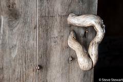 Door Handle (ZoesDad_70) Tags: door wood old tree handle grain doorhandle