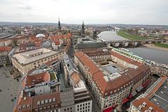 Aussichtsplattform Frauenkirche (Christian Jena) Tags: dresden zwinger frauenkirche semperoper schlos aussichtsplattform auftsieg