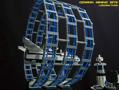 13_Portal (LegoMathijs) Tags: expedition layout wire mod energy power lego crystal space el vehicles astronauts modular planet scifi 20 functions mindstorms sattelite drill containers grapple spaceships miners moc nxt ores legomathijs oswion