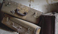 Tennessee State Hospital (Jonnie Lynn Lace) Tags: abandoned ruins decay peelingpaint suitcase derelict artifacts decayed decaying suitcases modernruins paintchips abandonedsouth chasinglight abandonedamerica patientsuitcase