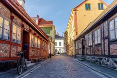 Street of Ystad (Hkan Dahlstrm) Tags: street house architecture photography se skne sweden cropped f56 ystad 2016 skneln xe2 xf1855mmf284rlmois sek gamlastadensandskogen 2120032016151305hdr