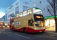 B&H 456 - BK13NZY - BRIGHTON - TUE 16TH FEB 2016 (Bexleybus) Tags: bus eclipse brighton hove company and gemini 456 wrightbus bk13nzy