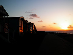 100_8953 (icanhasphoto) Tags: sunset beachhuts whitstable tankertonslopes