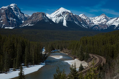 Banff Apr 2015-10 (memories by Mark) Tags: canada alberta banff banffnationalpark morantscurve