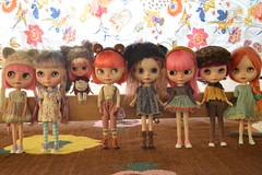 ~Dolly Shelf Sunday~Easter~ (nyssalily95) Tags: doll blythe meimei tct sweetdays zaloa vainilladolly freddytan tinycutethings kassandrasbox dollyshelfsunday