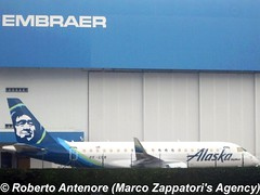 Embraer E-175 (E-170-200/LR) (Marco Zappatori's Agency) Tags: embraer alaskaairlines skywestairlines e175 marcozappatorisagency robertoantenore