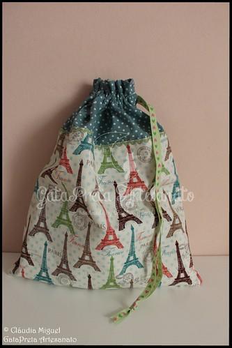 "Sacos para lingerie ""Traveller"" e ""Paris Coloré"""