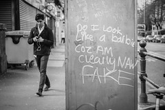Naw Fake (Caledonia84) Tags: road street lens grafiti glasgow sony great turbo ii western f2 58mm helios zhongyi 44m a6000