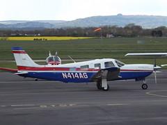 N414AG Piper Saratoga 32 (Aircaft @ Gloucestershire Airport By James) Tags: james airport saratoga gloucestershire piper 32 lloyds egbj n414ag