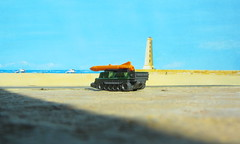 Matchbox Toys MBX HEROIC RESCUE Attack Track 2015 : Diorama The Beach And Lighthouse - 11 Of 25 (Kelvin64) Tags: rescue lighthouse beach toys track attack and diorama heroic matchbox the 2015 mbx