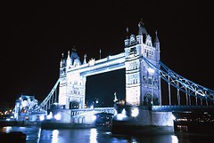 57446859 (abby.lewis74) Tags: city travel bridge light white black colour horizontal night river outdoors photography nopeople copyspace vacations southeastengland londonengland flowingwater capitalcities britishculture placeofinterest cd145 europeanculture numberofpeople photovolumes 57446859jpg