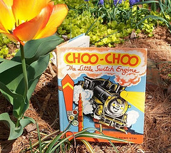 Choo Choo Train Vintage Childrens Book (forsythiahill) Tags: train vintage shopping book online choo childrens etsy forsythiahill