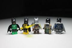 Bat Barf ([C]oolcustomguy) Tags: brick green yellow dawn justice arms lego space bruce wayne superman batman nightmare vs lantern minifig minifigures brickarms bsdj apocalypes