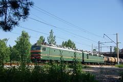 RZD VL85-143. Transsib line, Angarsk, Irkutsk oblast.