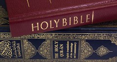 Bible and Koran (Quran) (The_Secretary_Will_Disavow) Tags: bible quran koran