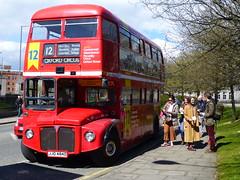 Boomin' Bus Tour by Doug Fishbone (Paul Profili) Tags: red bus london art look festival design scotland artist 1966 again aberdeen routemaster 12 conceptual visual oxfordcircus standup aec dougfishbone rml2484 jjd484d boominbustour