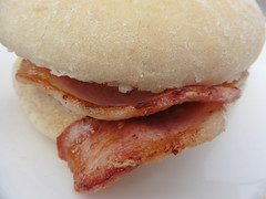 #36 of 100 x = Food (Explored, thank you) (amy's antics) Tags: food lunch bacon bap image36100 100xthe2016edition 100x2016