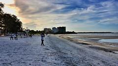 Beach after sunset (CzechInChicago) Tags: sunset beach tanzania dusk daressalaam palmbeach eastafrica