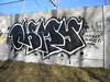 Ohmy Clogged Caps (Randall 667) Tags: street urban art train island graffiti artwork artist exploring caps tracks cm providence crew yuck writer rhode bfd outcast ohmy tagger cranston clogged