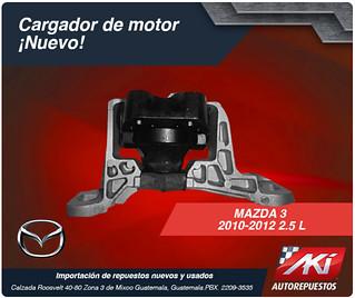 cargadorMAZDA 3 2010-2012 2.5 l