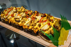 Abalone sushi (Victor Wong (sfe-co2)) Tags: food sushi meals indoor center ala abalone assortment kona moana