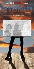 Cartel obra de Teatro:Invisibles (Charo Hernández) Tags: photoshop teatro mujer cielo nubes televisión conceptual cartel invisibles palencia 2016 simbología obrateatral charohernández photoshopcreativo conchasantiago lapsusteatro