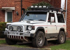 F279 TRK (Nivek.Old.Gold) Tags: wagon diesel turbo 1989 mitsubishi pajero intercooler swb 2470cc