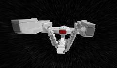 USS Enterprise (hachiroku24) Tags: trek movie star ship darkness lego science scifi beyond spaceship enterprise 2009 moc afol 1701 ficticion