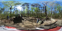 Camping in North Georgia (JZ in ATL) Tags: 360 canyon spherical cloudland equirectangular