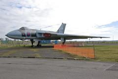 XJ823 (Rob390029) Tags: plane airport force display aircraft aviation military air jet royal cumbria static vulcan bomber carlisle raf avro 823 cax egnc xj823