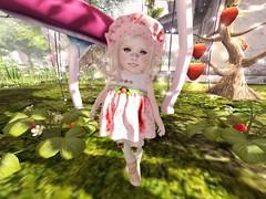 Strawberry Sweetie (anastasia.rayne) Tags: pose sl secondlife strawberryshortcake td toddleedoo toddleedoobaby toddleteez toddleedookid