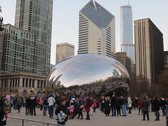 20141226 47 Cloudgate (davidwilson1949) Tags: chicago illinois millenniumpark cloudgate