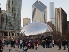 20141226 47 Cloudgate (davidwilson1949) Tags: chicago illinois millenniumpark cloudgate