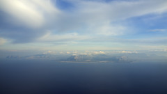 approaching Palermo PMO airport (micmol ) Tags: blue sea sky italy cloud mountain water horizontal landscapes fly flying airport mediterranean day cloudy outdoor scenic nobody it aerial fromabove sicily lookingdown fromadistance palermo range pmo tofly puntaraisi tyrrhenean