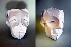 Head - Saadya Sternberg (Rui.Roda) Tags: face origami mask head cabeza papiroflexia rostro cabea rosto tte visage masque mscara saadya sternberg papierfalten
