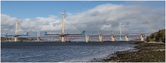 Forth Bridges No41 - 17-04-16 (Jistfoties) Tags: forth queensferry southqueensferry forthbridges civilengineering newforthcrossing pictorialrecord queensferrycrossing