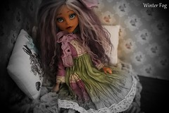 Water lily (WinterfogDolls) Tags: winter cats flower monster fog photo high doll dolls foto gothic dal sd lolita bjd pullip blythe dollfie luts mh dall lut momoko pictor sd13 lati yosd winterfog monsterhigh bjd13