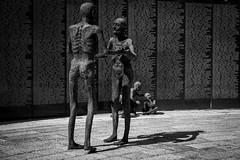 Sculptures inside the Holocaust Memorial (g_heyde) Tags: sculpture holocaust memorial florida miamibeach xpro1 holocaustmemorialmiamibeach
