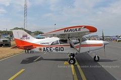 AEE-610 (Sandro Rota - Ecuador Aviation Photography) Tags: fotos militar aeropuerto spotting guayaquil avion aviones ejercito avioneta maule aviacion guayas ejercitoecuatoriano ecuadoraviationphotography