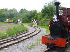 P1050725 (Hampton & Kempton Waterworks Railway.) Tags: diesel loop galaday 2015 darent spelthorne