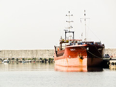 Moored (StefoF) Tags: sea harbor dock mare ship harbour ships cargo greece nave porto grecia tug navi molo kalamata peloponneso rimorchiatore