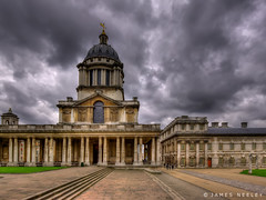 Dome of the Painted Hall (James Neeley) Tags: london greenwich hdr paintedhall oldroyalnavalcollege jamesneeley
