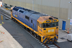 Pacific Nationals around Port Kembla (Capital SS) Tags: road old railroad electric rural port train fix john tren pull la die power pacific diesel authority capital ss traction performance australian engine eisenbahn rail railway loco australia run el class line national workshop repair transit rails depot locomotive coal 80 load treno engineer freight appliance grunt pn bogie kw locos wollongong bulk portkembla  kembla pacificnational  dieselelectric 8005 8112 8118 class81 gunzel trane stabled 81class class80 80class ruralbulk gunzelling gunzeller