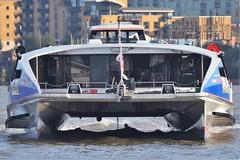 Cyclone Clipper IMO: 9451800 (Charles Dawson) Tags: london catamaran riverthames thamesclipper