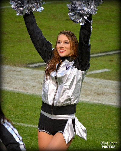 2015 Oakland Raiderette Mandy @ Coliseum