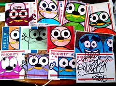 stickers (Wizards_Stickers) Tags: graffiti stickers can spray crew labels usps slaps collabs mtsk cholowiz nazer26