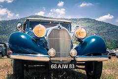 Blue car (Magali Ferre Gabrigs) Tags: blue car 50mm nikon voiture bleu d750 oldcar talbot bluecar vieillevoiture voiturebleue nikond750