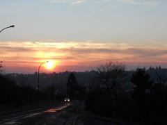 (marion_lecoq) Tags: light sunset sky car de soleil twilight lumire coucher voiture ciel soir crpuscule