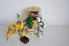 Merry Xmas 2015 !(7) (Loysnuva) Tags: christmas xmas tree fireplace lego system mecha mocs moc loys nuva icya bionifigs loysnuva mihibot bizibot